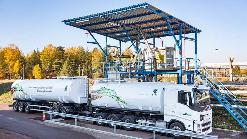 Transporting clean power from Finnish forests