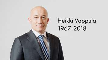 Heikki Vappula, Executive Vice President of UPM Biorefining, believed to have died in a plane crash